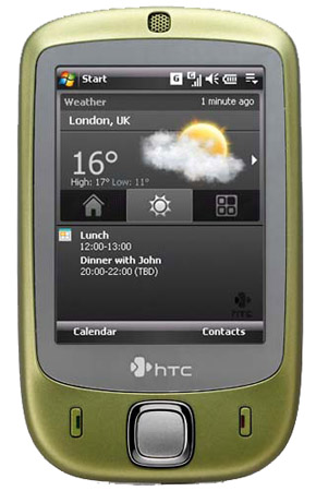 htc touch green
