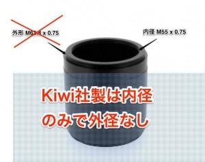KIWI製とTurtleback製の違い