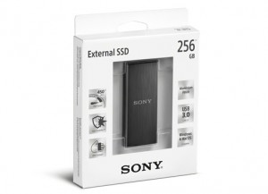 SONY External SSD 256GB SL-BG2