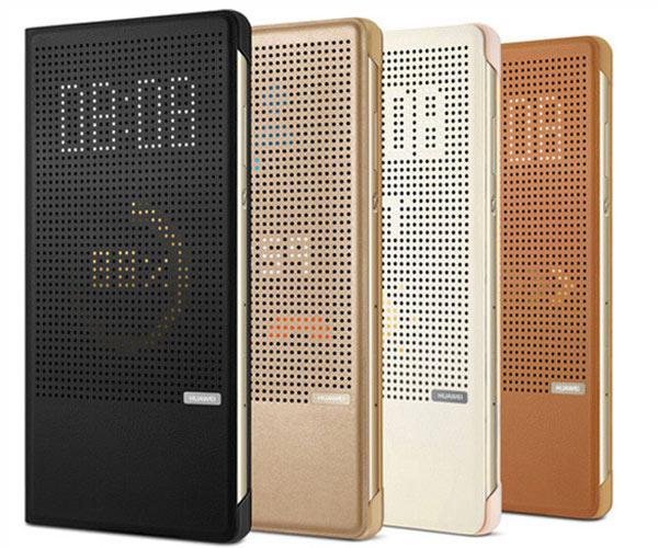 Huawei P8 Maxドットビューカバー