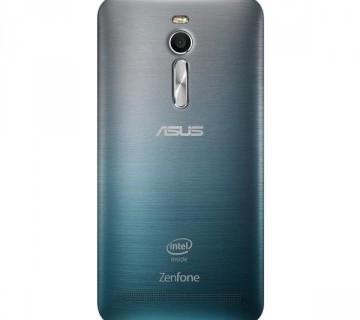 ASUS Zen Fone 2 グラデ着せ替えカバー(青)