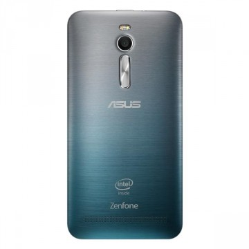 ASUS ZenFone2 グラデ着せ替えカバー(青)