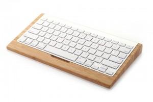 SAMDi Banboo Keyboard Stand Holder for Wireless Keyboard