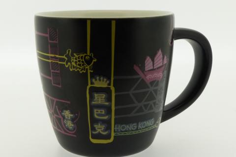 スタバ香港 感温マグカップ&デミタスカップ