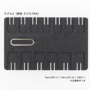 【名刺サイズ】SIM&SDカードフォルダ Model2