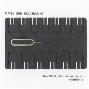 【名刺サイズ】SIM&SDカードフォルダ Model3