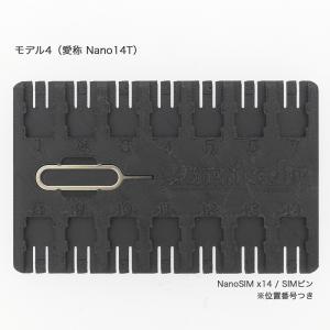 【名刺サイズ】SIM&SDカードフォルダ Model4