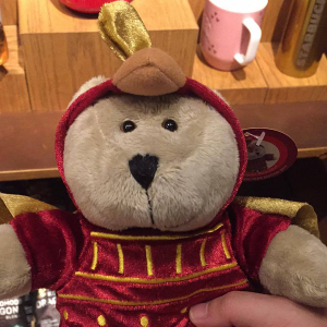 Starbucks Hong Kong The Year of the Rooster Bearista Bear